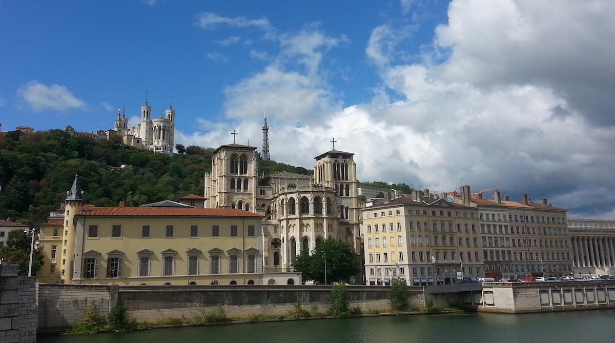 Lyon-maisema